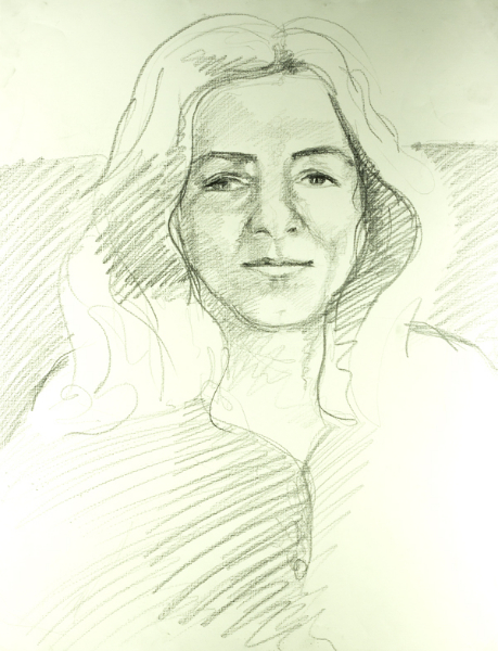 pencil-on-paper