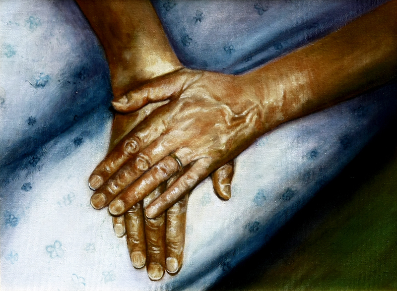 mathers-hands-oil-on-canvas-40x30cm-2005